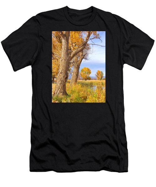 Remembering Autumn Men's T-Shirt (Athletic Fit)