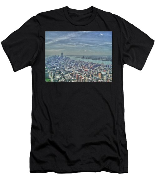 New York Remembering 9/11 Men's T-Shirt (Athletic Fit)