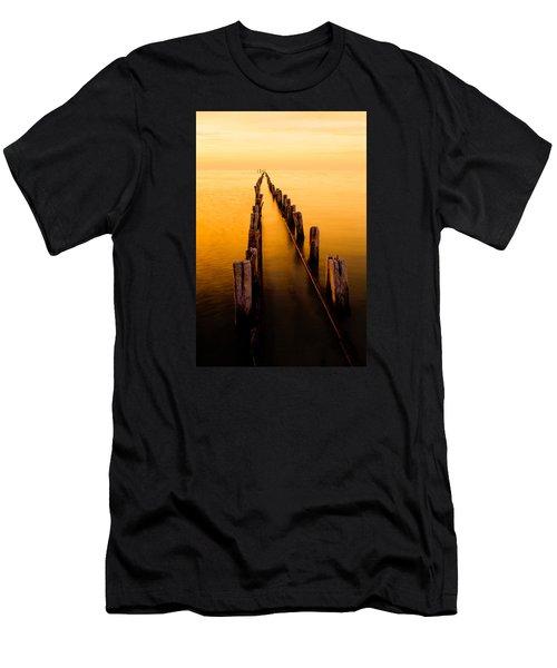 Remnants Men's T-Shirt (Slim Fit) by Chad Dutson