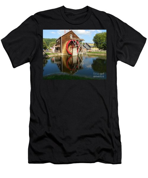 Renfro Valley  Mill Men's T-Shirt (Slim Fit) by Mary Carol Story