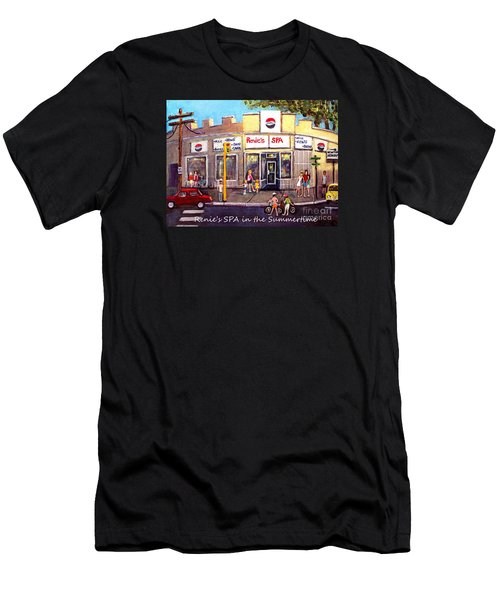 Renie's Spa In Summertime Men's T-Shirt (Athletic Fit)