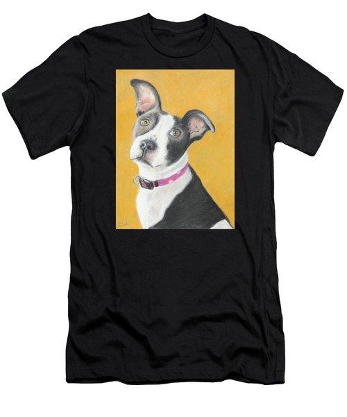 Rescued Pit Bull Men's T-Shirt (Athletic Fit)