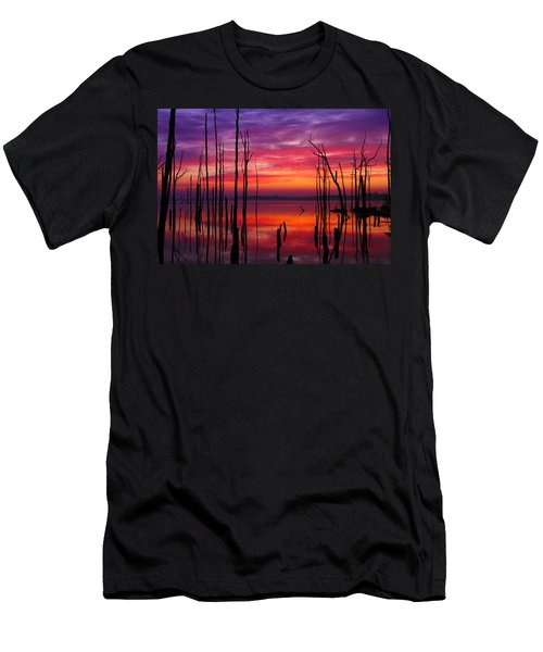 Reservoir At Sunrise Men's T-Shirt (Athletic Fit)