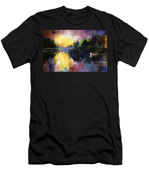 Returning From The Hunt Men's T-Shirt (Athletic Fit)