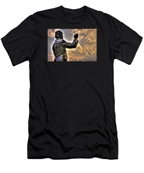 Rev. Father William E. Corby C S C - Blessing The Troops Of The 88th New York Infantry Irish Brigade Men's T-Shirt (Athletic Fit)