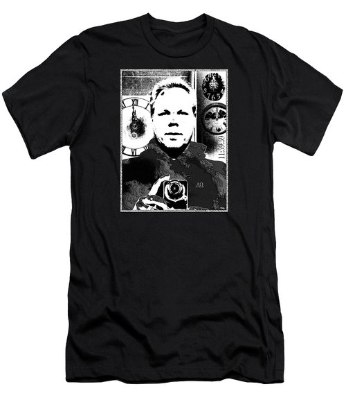 Men's T-Shirt (Slim Fit) featuring the digital art Revelatory Perception by Glenn McCarthy Art and Photography