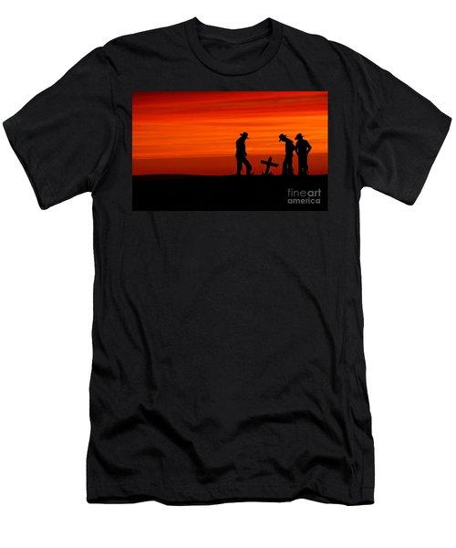 Cowboy Reverence Men's T-Shirt (Athletic Fit)