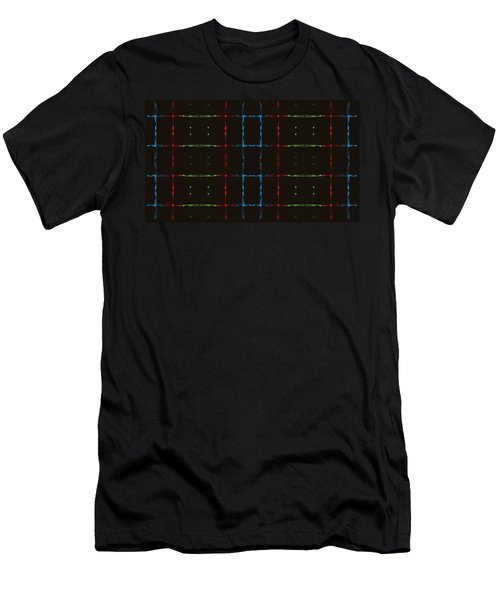 Rgb Network Men's T-Shirt (Athletic Fit)