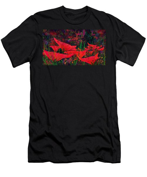Rhapsody In Red Men's T-Shirt (Athletic Fit)
