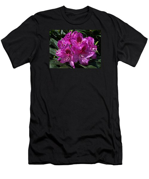 Rhododendron ' Anah Kruschke ' Men's T-Shirt (Slim Fit) by William Tanneberger