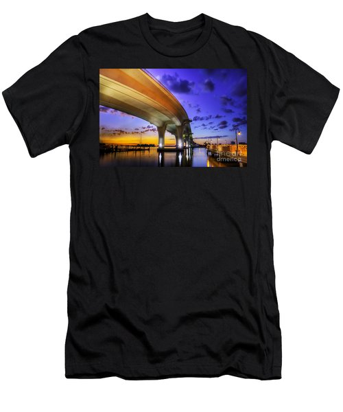 Ribbon In The Sky Men's T-Shirt (Athletic Fit)