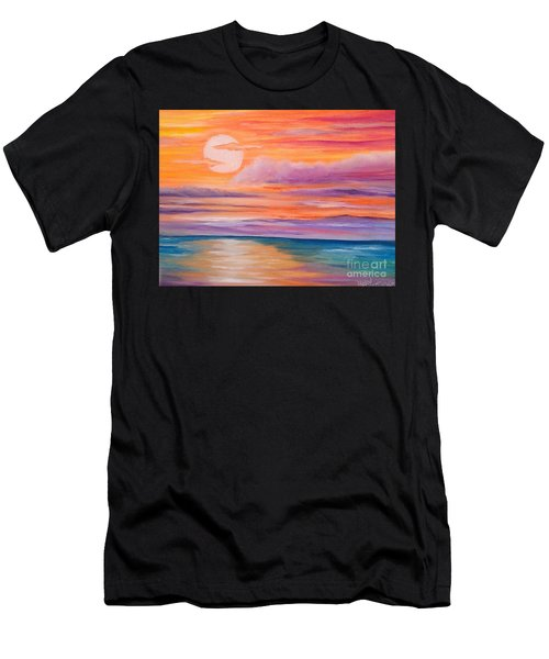 Ribbons In The Sky Men's T-Shirt (Athletic Fit)