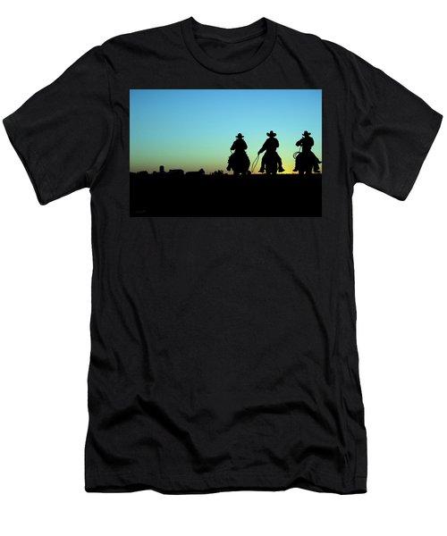 Ride 'em Cowboy Men's T-Shirt (Slim Fit) by Andrea Kollo