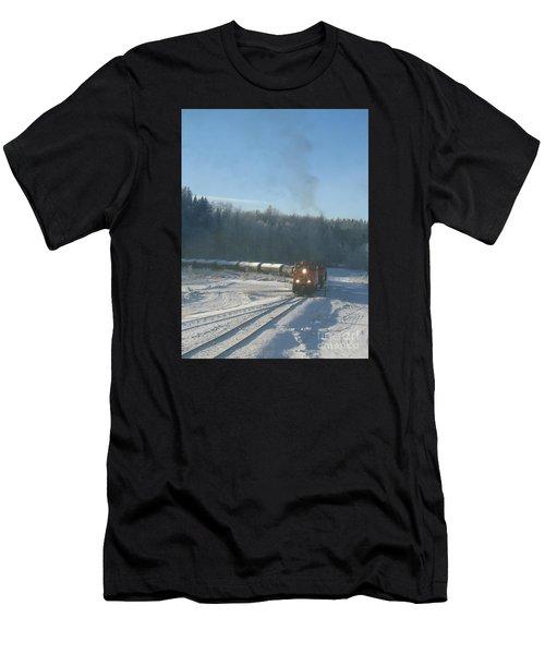 Ride The Rails Men's T-Shirt (Athletic Fit)