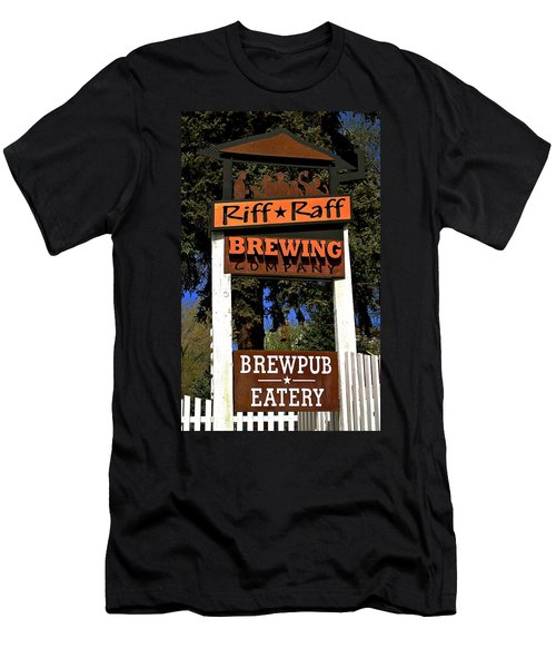 Riff Raff Brewing Men's T-Shirt (Slim Fit)