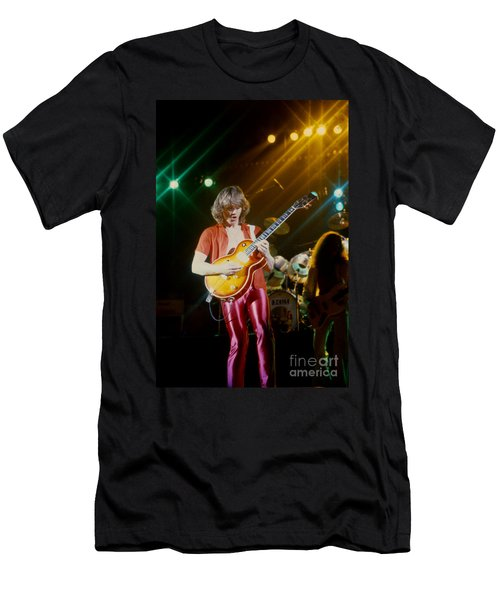 Rik Emmett Of Triumph At The Warfield Theater In San Francisco Men's T-Shirt (Athletic Fit)