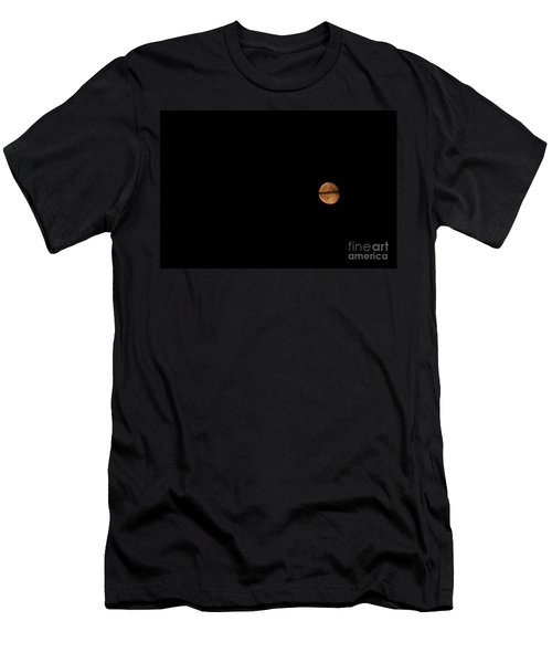 Ring Around The Moon Men's T-Shirt (Athletic Fit)