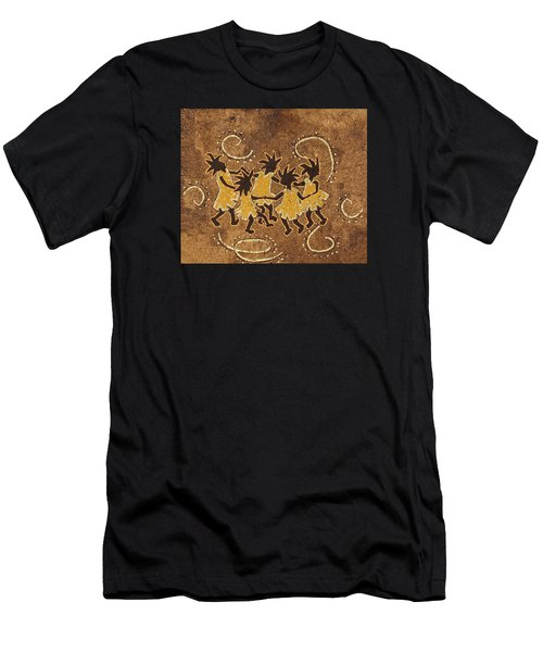 Ring-around-the Rosie Men's T-Shirt (Athletic Fit)