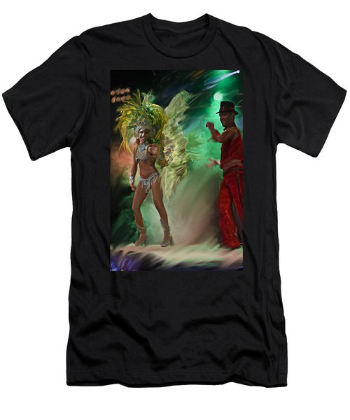 Rio Dancer II A  Men's T-Shirt (Athletic Fit)