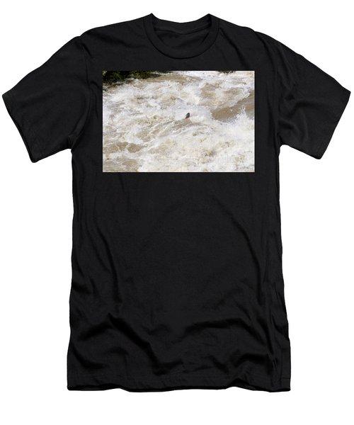 Rio Grande Kayaking Men's T-Shirt (Athletic Fit)