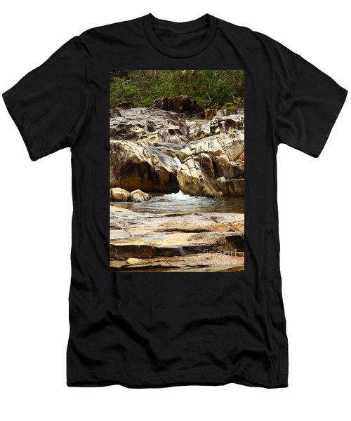 Rio On Pools Men's T-Shirt (Slim Fit) by Kathy McClure
