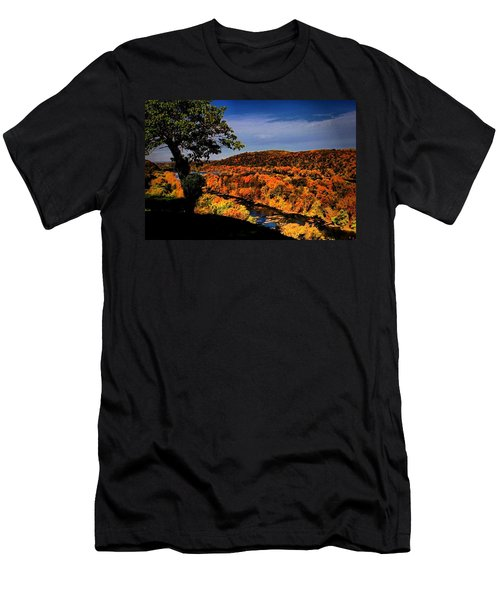 Men's T-Shirt (Slim Fit) featuring the photograph Rise And Look Around You by Robert McCubbin