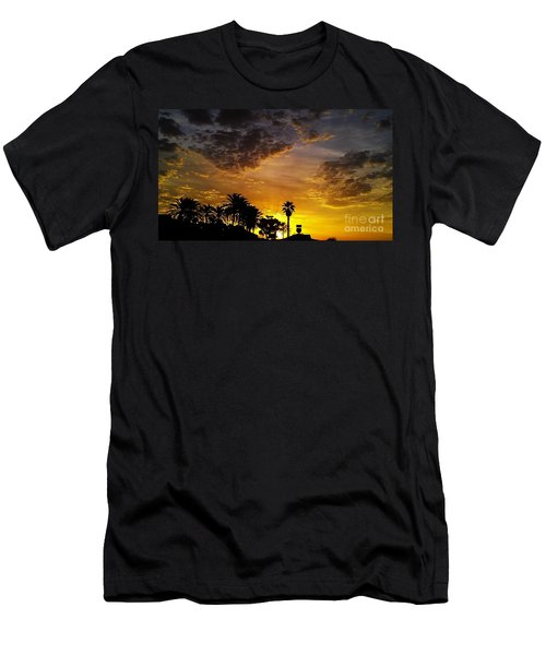 Men's T-Shirt (Slim Fit) featuring the photograph Rise by Chris Tarpening