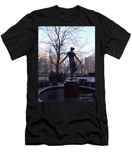 Rittenhouse Square At Dusk Men's T-Shirt (Athletic Fit)