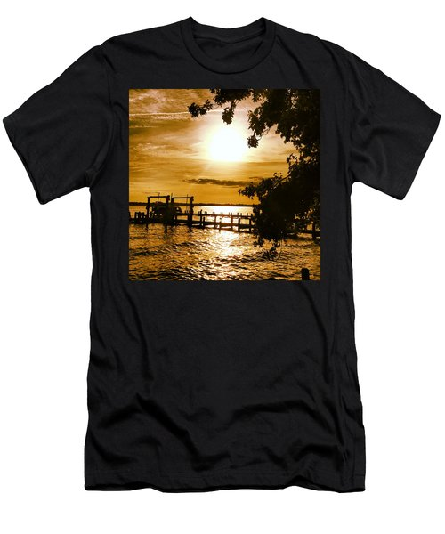 River Acres Jaynes Sunset Men's T-Shirt (Athletic Fit)