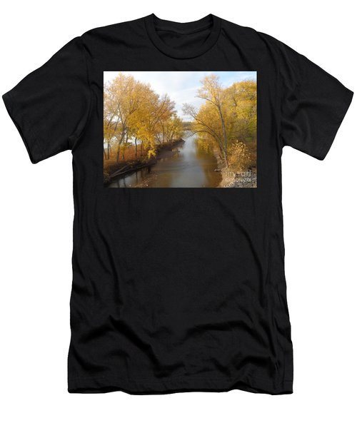 River And Gold Men's T-Shirt (Athletic Fit)