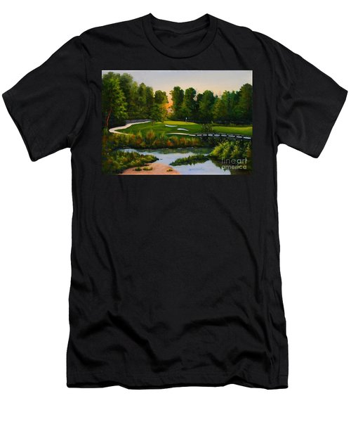 River Course #16 Men's T-Shirt (Athletic Fit)