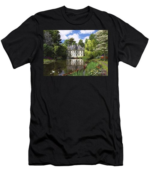 River Mansion Men's T-Shirt (Athletic Fit)