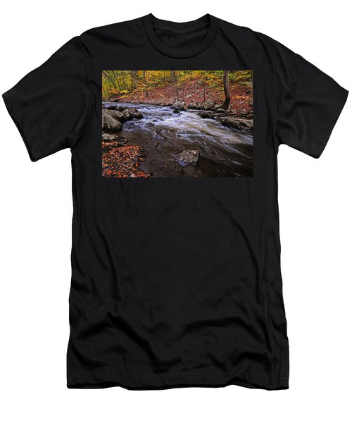 River Of Color Men's T-Shirt (Slim Fit) by Dave Mills