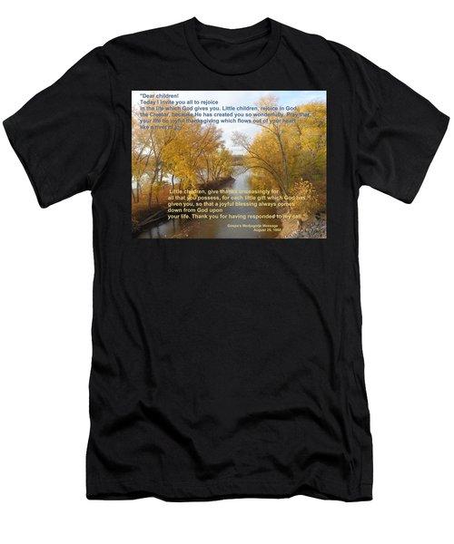 River Of Joy Men's T-Shirt (Athletic Fit)