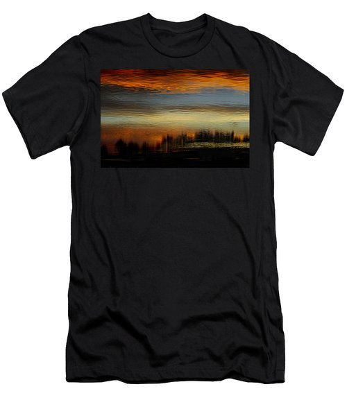 Men's T-Shirt (Athletic Fit) featuring the photograph River Of Sky by Laura Fasulo