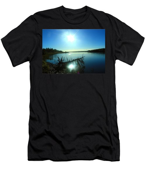 Men's T-Shirt (Slim Fit) featuring the photograph River Ryan by Jason Lees