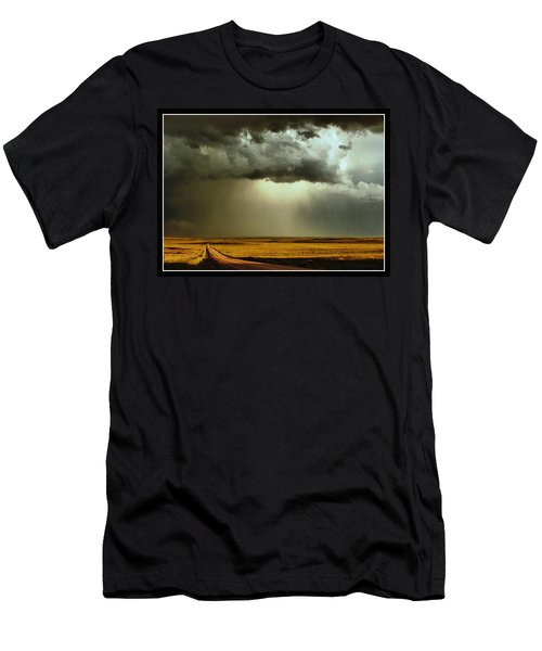 Road Into The Storm Men's T-Shirt (Athletic Fit)