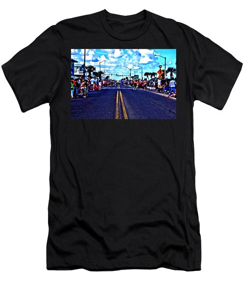 Road To Infinity Men's T-Shirt (Athletic Fit)