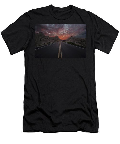 Road To Nowhere Badlands Men's T-Shirt (Athletic Fit)