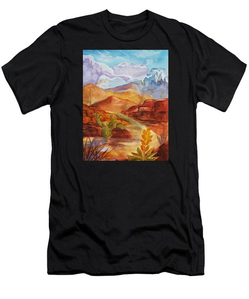 Road To Nowhere Men's T-Shirt (Athletic Fit)