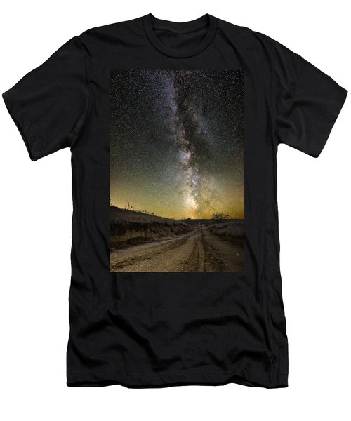 Road To Nowhere - Great Rift Men's T-Shirt (Athletic Fit)