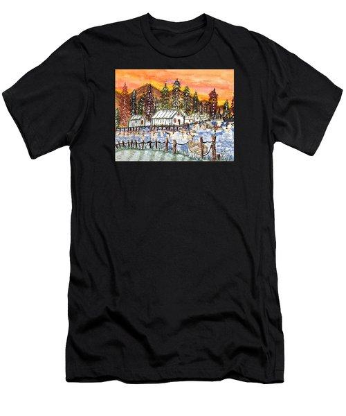 Road To The Oregon Coast Men's T-Shirt (Athletic Fit)