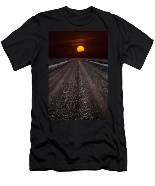 Road To The Sun Men's T-Shirt (Athletic Fit)