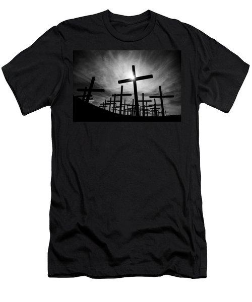 Roadside Memorial Men's T-Shirt (Athletic Fit)