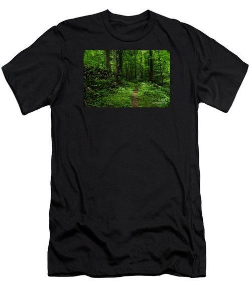 Men's T-Shirt (Slim Fit) featuring the photograph Roaring Fork Trail by Debbie Green