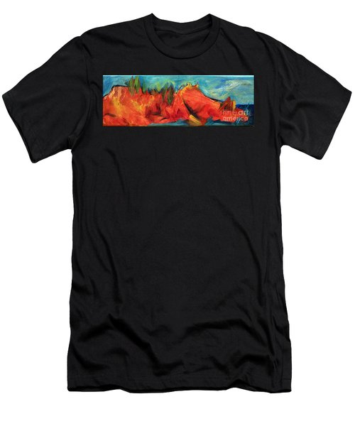 Roasted Rock Coast Men's T-Shirt (Athletic Fit)