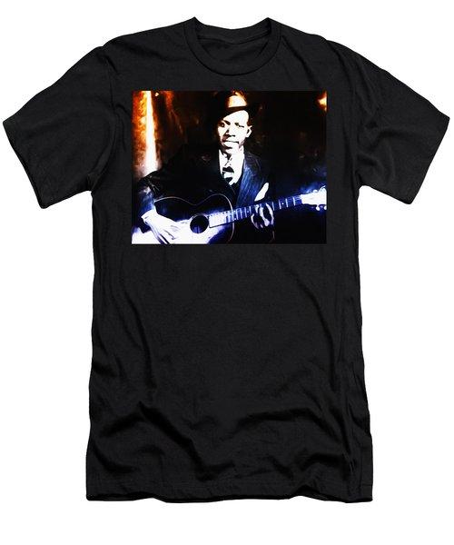 Robert Johnson - King Of The Blues Men's T-Shirt (Athletic Fit)