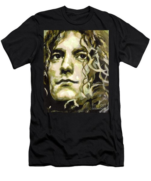 Robert Plant. Golden God Men's T-Shirt (Athletic Fit)