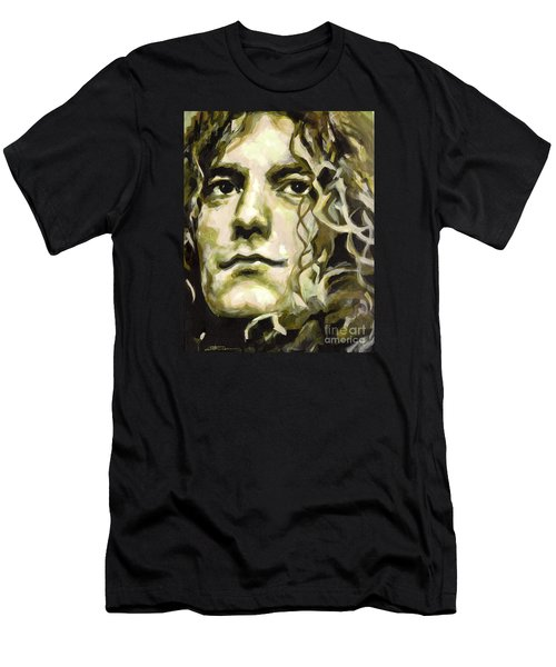 Robert Plant. Golden God Men's T-Shirt (Athletic Fit)