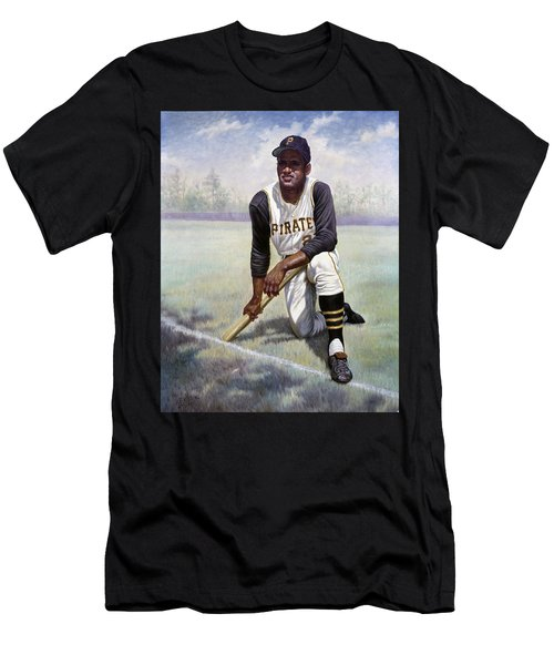Roberto Clemente Men's T-Shirt (Athletic Fit)
